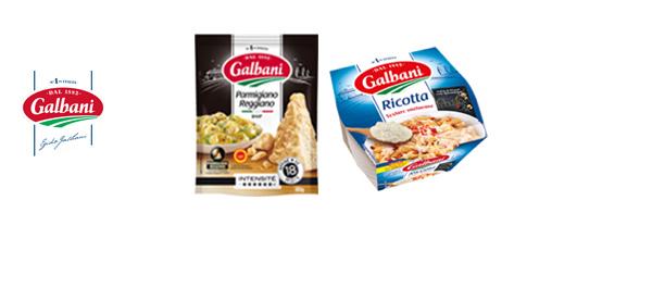 Parmesan & Ricotta Galbani