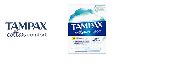 Tampax Cotton Comfort