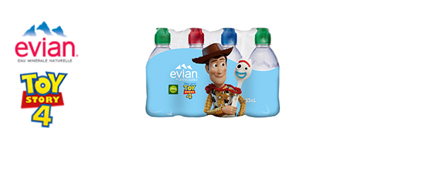 evian x Toy Story