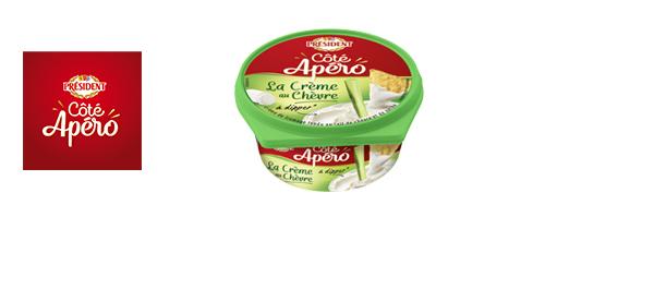 Les fromages Président « Coté Apéro »