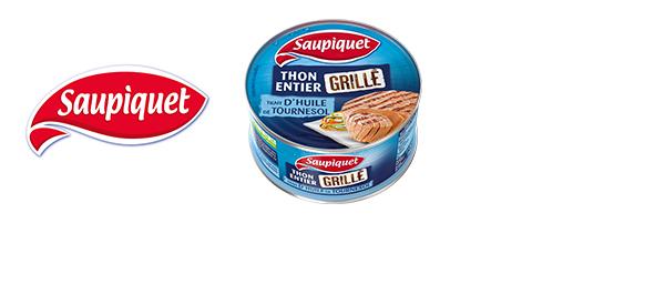 Le thon entier grillé Saupiquet