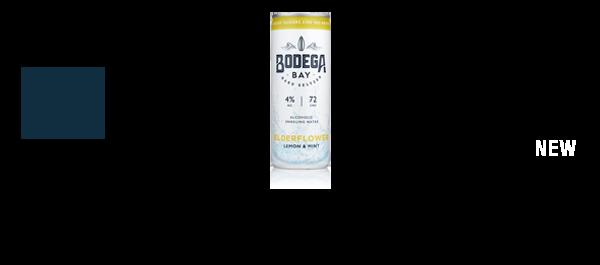 Bodega Bay Hard Seltzer 4% alc.