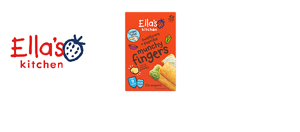 Ella's Kitchen organic finger food