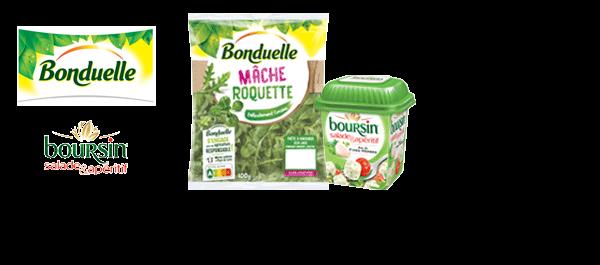 Bonduelle & Boursin Salade