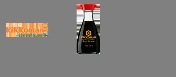 Les sauces soja Kikkoman