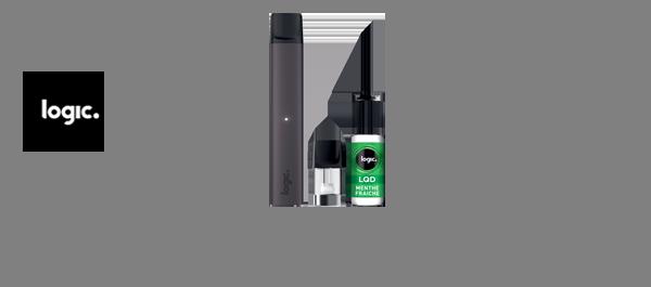 Logic Compact & E-liquides Logic LQD