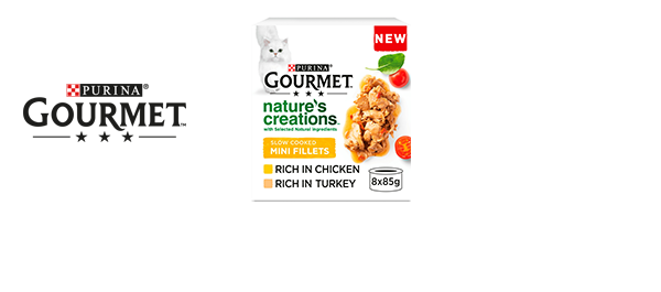 Gourmet Nature's Creations Cat Food