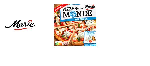 Pizzas du Monde de Marie