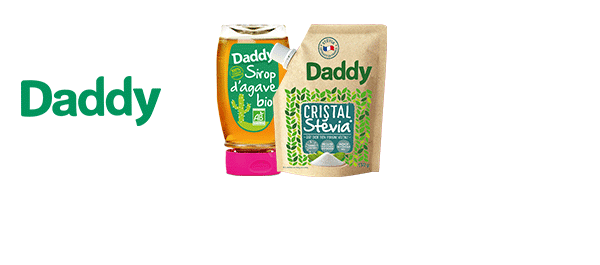 Sucres Bio et Stévia Daddy