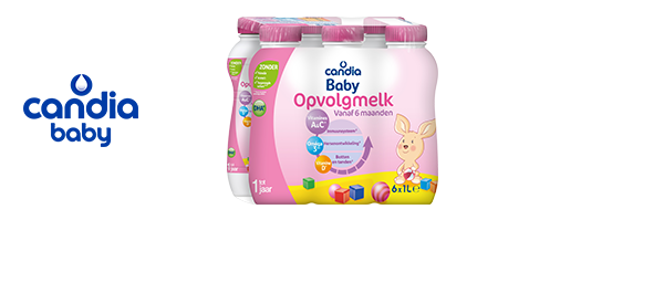 Candia Baby melk vanaf 6 maanden