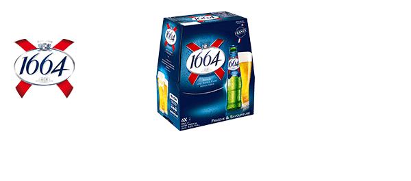 Bières 1664