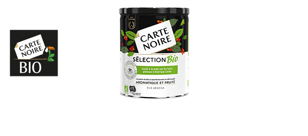 CARTE NOIRE SÉLECTION BIO