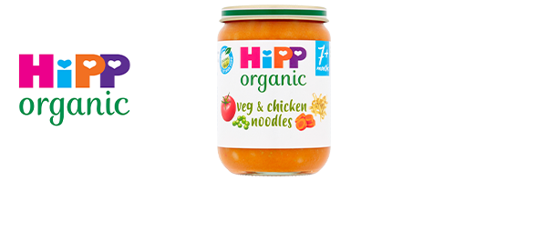 HiPP Organic Baby Food Jars