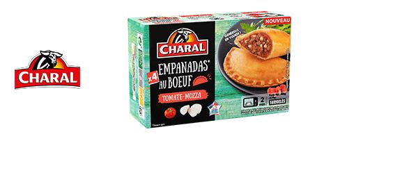 Les Empanadas au bœuf CHARAL