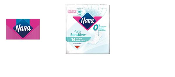 Découvrez la gamme Nana Puresensitive