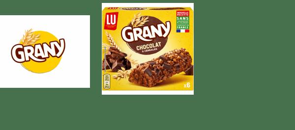 Barres de céréales Grany