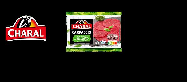Carpaccios de bœuf Charal
