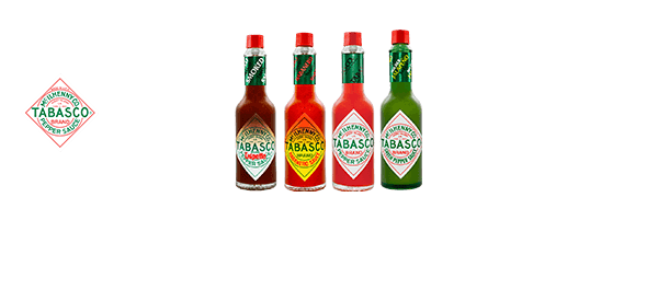 Discover TABASCO®'S Family of Flavours