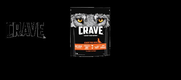 Crave™ : croquettes pour Chien & Chat