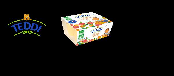 Desserts Lactés Teddi BIO