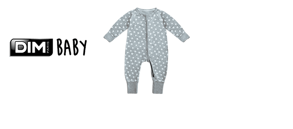 Les pyjamas DIM Zippy