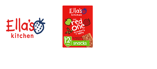 Ella's Kitchen Toddler Snack Oaty Bars