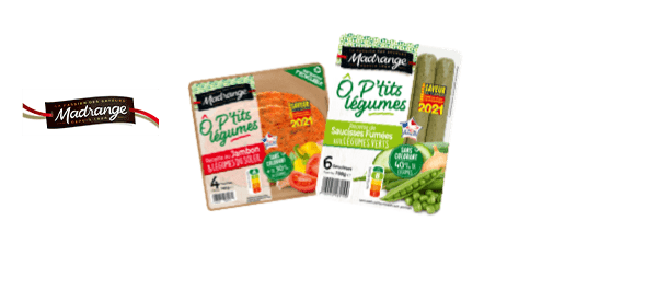 Gamme O'P'tits Légumes