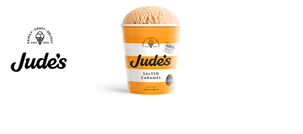 Deliciously indulgent Jude's Ice Cream