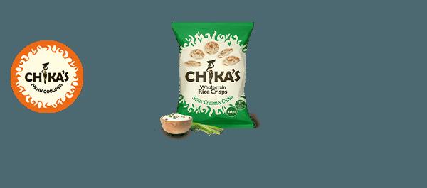 CHIKA'S Wholegrain Rice Crisps