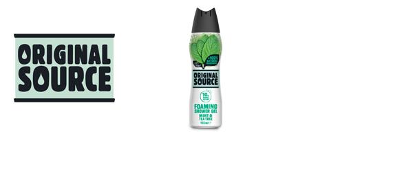 Original Source New Foaming Shower Gel