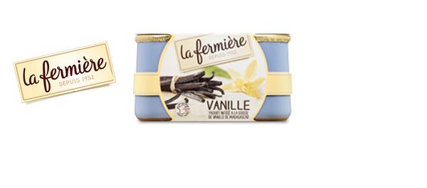 Les desserts La Fermière...