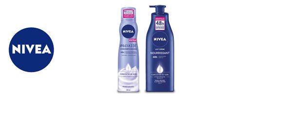 NIVEA Hydratation corps 48h