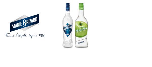 Les liqueurs Marie Brizard