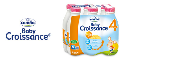 Candia Baby Croissance® 3 & 4