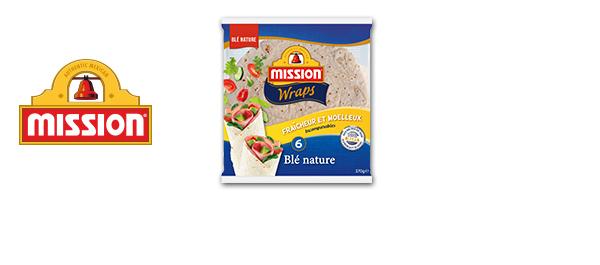 Les Wraps et Tortilla Chips Mission
