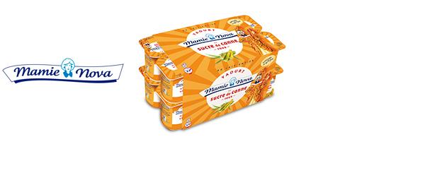 Yaourt et fromage blanc Mamie Nova