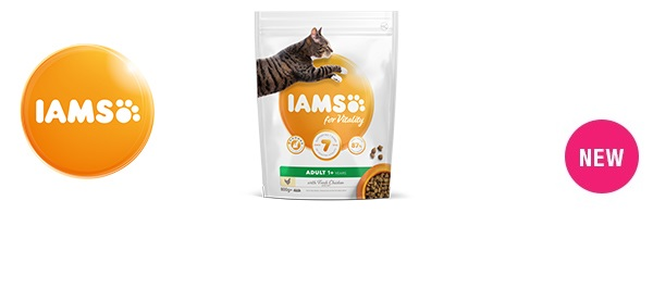 IAMS for Vitality Cat Food