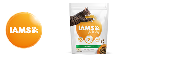 IAMS for Vitality Cat Food