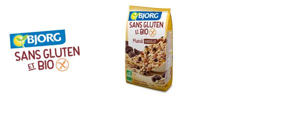 Muesli Bjorg Sans Gluten et Bio