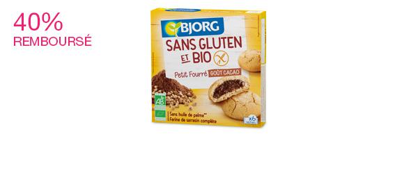 Biscuits Bjorg Sans Gluten et Bio