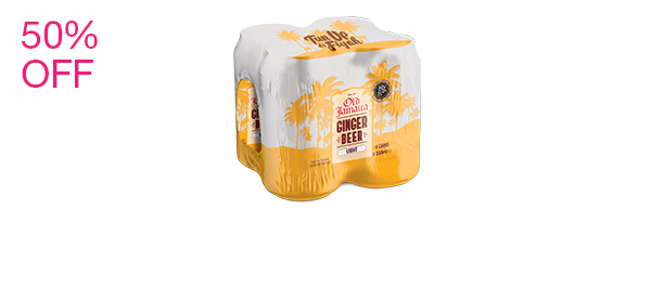 Ginger Beer Light 4 pack