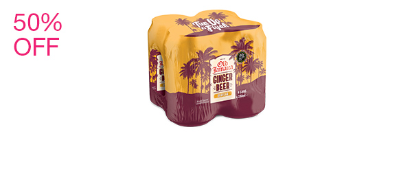 Ginger Beer Regular 4 pack