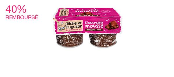 Mousse au chocolat 2x120ml