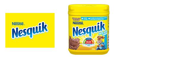 Nesquik® 30% Less Sugar