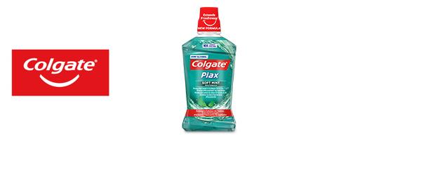 Les bains de bouche Colgate Plax