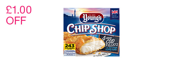 Chip Shop Cod Fillets