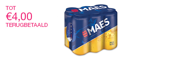 Maes 6x50cl. 5.2%