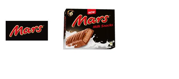 New MARS® Milk Snacks