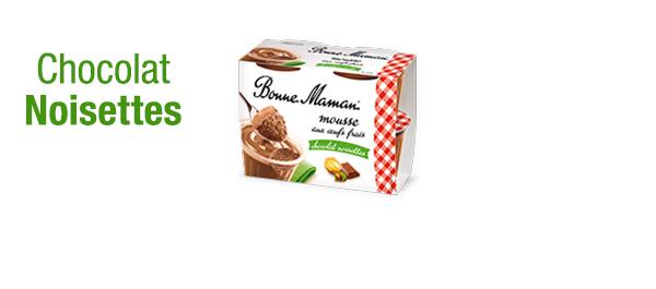 Mousse au Chocolat Noisettes