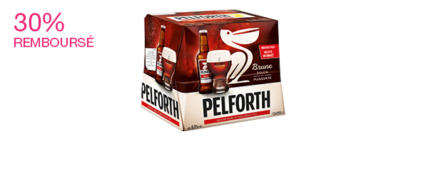 Pelforth Brune 12x25cl